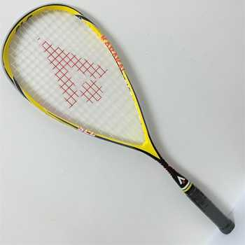 Hot selling Karakal squash racket made of 100% carbon fiber very light weight squash racket 135+/-5g