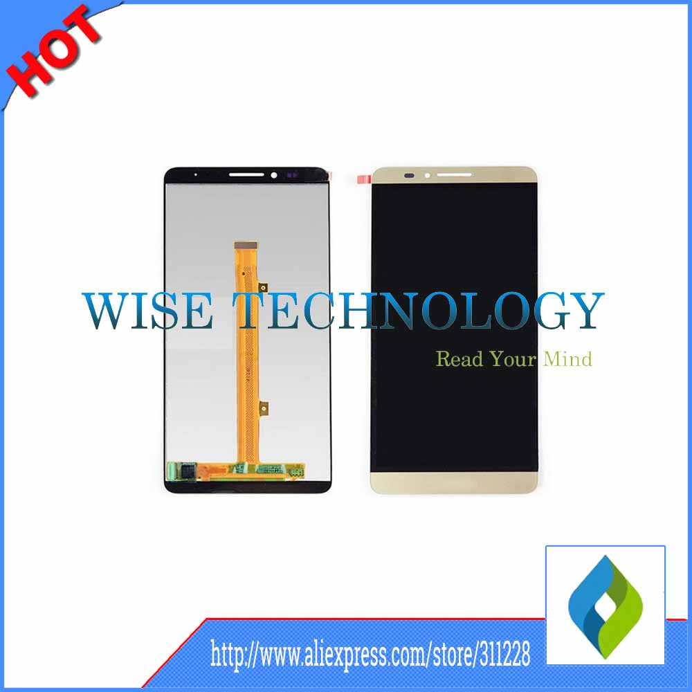 For Huawei Mate 7 LCD Screen with Touch Screen Digitizer Display for Huawei Mate 7 MT7  black white gold 6 0 lcd display digitizer touch screen with frame for huawei ascend mate 7 mt7 white black gold free shipping