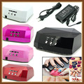 36w Led nail lamp + UV nail dryer Polish Gel Curing Nail tools EU AU US UK plug