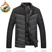 Men #8217 s Jackets and Coats Men Outerwear Winter Fashion Male Clothing Jackets High quality Slim Fit Mens Brand Clothing Outerwear cheap REGULAR COTTON Stand Cashmere Wool Liner Broadcloth Spliced Zippers NoEnName_Null Microfiber 0 80KG Floral NONE W15811 Casual