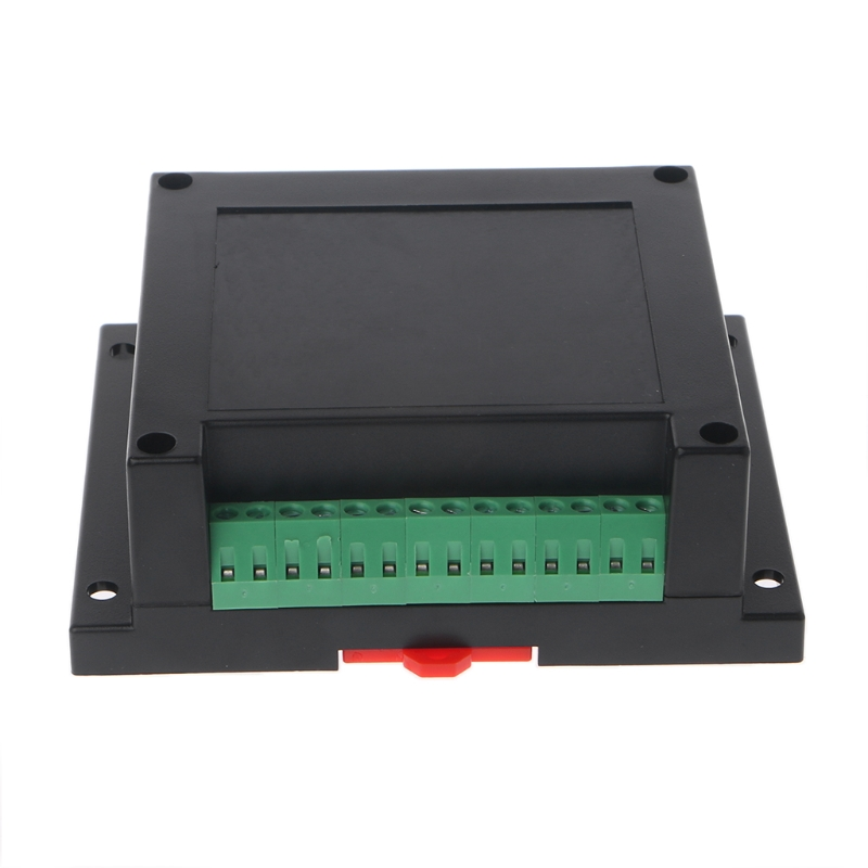 Electronic Box Din Rail Enclosure Control Box Plastic Shell Electronic Project Case Terminal Block 115*90*40mm