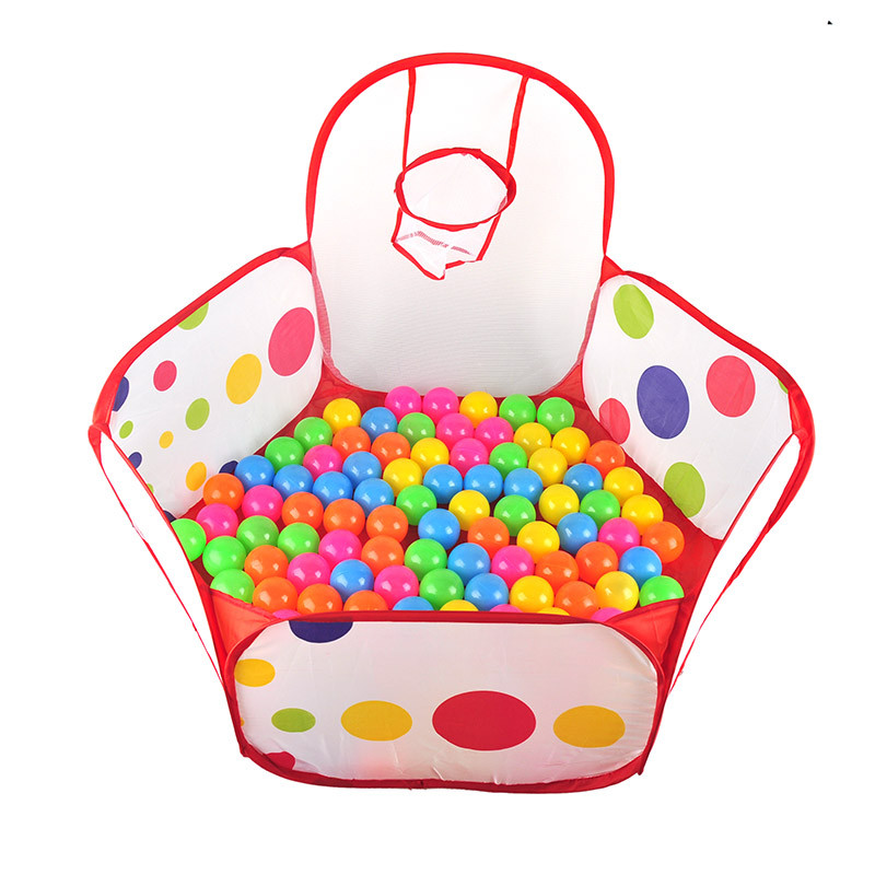 Children Kid Ocean Ball Pit Pool Game Play Indoor Game Baby Toys Tent In Outdoor Kids Hut Pool Play Tent Childrens Tent House