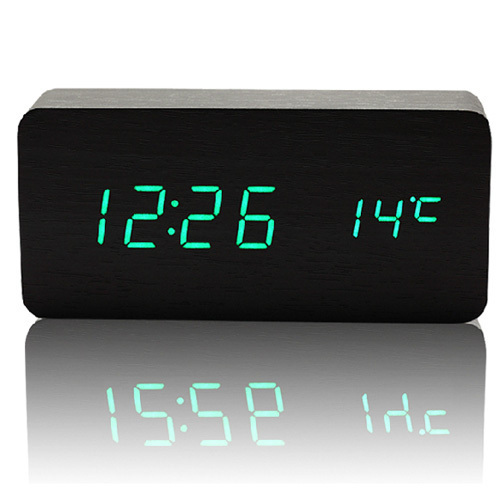 High Quality Alarm Clocks With Thermometer Table Clocks