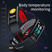 Selling Smart Watch PPG ECG Body Heat Heart Rate Blood Pressure Monitor IP68 Waterproof Weather Forecast Men Women Smartwatch(China)