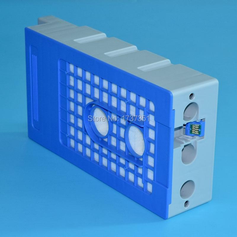 maintenance box for Epson T3000 printer 10pcs for epson dx5 uv printer ink damper for epson stylus proll 4000 4800 7400 7800 9800 9400 9450 flat printer uv ink damper