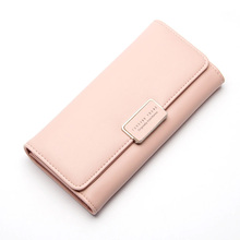 Fashion Women Long Clutch Wallet Large Capacity Wallets Female PU  Purse Lady Purses Phone Pocket Coin Card Holder New Carteras new arrival women wallets high quality female long purse lattice women s coin wallet lady clutch cell phone pocket big promotion
