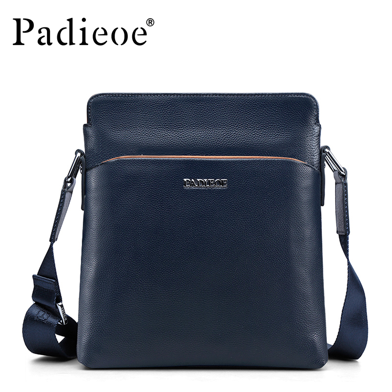 ФОТО Free shipping genuine leather bags for men messenger bag men leather men's business shoulder sling bags with high quality 51ZP01