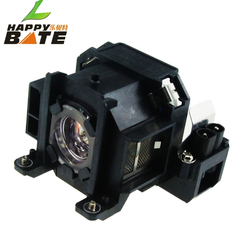 HAPPYBATE V13H010L38/ELPLP38 Projector Bare Lamp With Housing For EMP-1715, EMP-1700, EMP-1707,EMP-1710,EMP-1717,EMP-1705,EX100