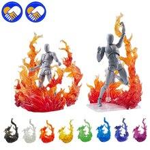 Tamashii chama efeito de impacto modelo kamen rider figma shf figura de ação cenas de fogo brinquedos efeito especial brinquedos de ação acessórios