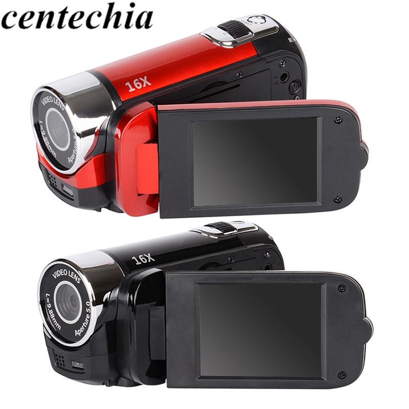 Digital Camera 2.7 inch TFT HD Video Camcorder Camera 1080P DV DVR 16X LCD Digital Zoom 16MP CMOS Digital Video Professional