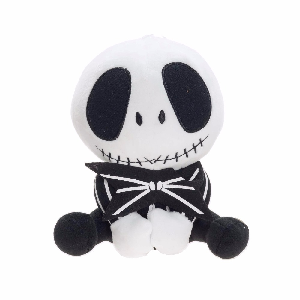 New 20 25cm The Nightmare Before Christmas Jack Plush Toy Stuffed ...