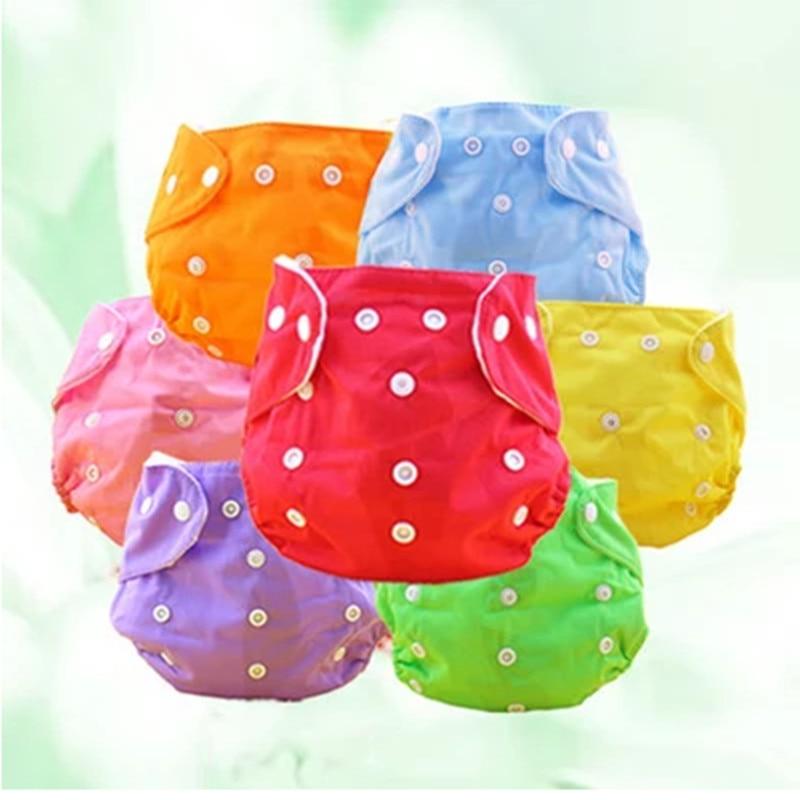 Paño del bebé Pañales reutilizables Pañales Lavables Recién - Pañales y entrenamiento para ir al baño - foto 2