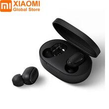 Xiaomi Redmi Airdots TWS Bluetooth 5,0 Kopfhörer DSP Noise Cancelling Ohrhörer Auto Paarung Bilateralen Call Stereo Echte Drahtlose