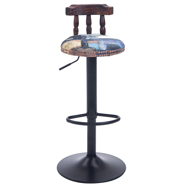 hotel lifting chair coffee stool brown purple black grey color for sellection fashion bar chair france club stool brown rose silver color lifting chair