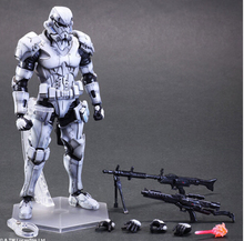 Star Wars Figura de Acción Juguetes Play Arts Kai Star Wars Stormtrooper Stormtrooper Imperial Collection Modelo Anime Playarts