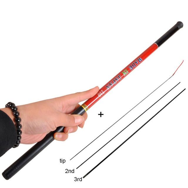 YUYU Short Stream Fishing Rod 1.8m 2.1m 2.4m 2.7m 3.0m 3.6m portable Telescopic Fishing Rod Hand rod Pole for Carp Fishing