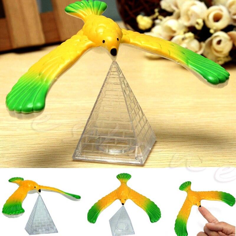 Magic Balancing Bird Science Desk font b Toy b font w Base Novelty Eagle Fun Learn