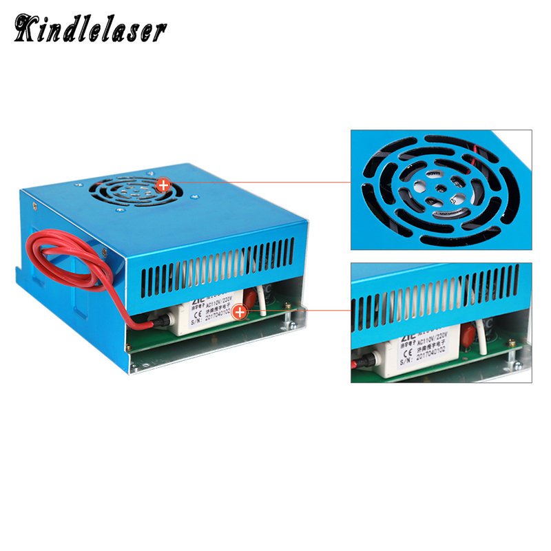 80W CO2 Laser Power Supply MYJG-80 for CO2 Laser Engraving Cutting Machine 80w co2 laser power supply for co2 laser engraving cutting machine myjg 80w