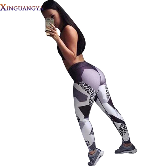 orkout leggings Women Fashion Trousers High Waist Leopard Print Slim Fit Elastic warm Leggings For Woman Skinny Fitness Bottoms