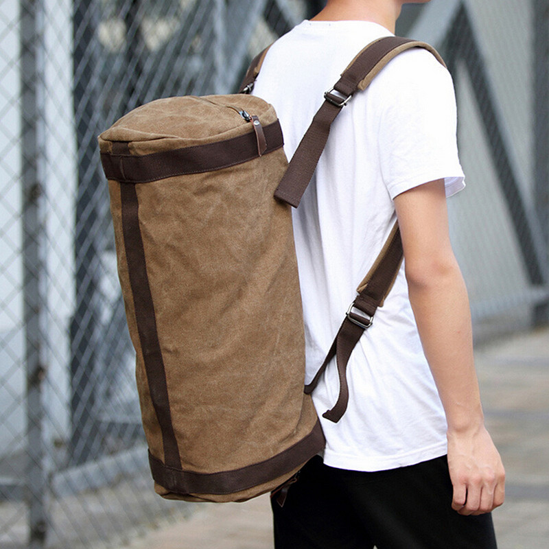 High Quality Men Canvas Travel Luggage Bags Duffel Bags Travel Shoulder Bag Large Leisure Fashion Designer