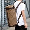 High Quality Men Canvas Travel Luggage Bags Duffel Bags Travel Shoulder Bag Large Leisure Fashion Designer Weekend Backpacks Ove