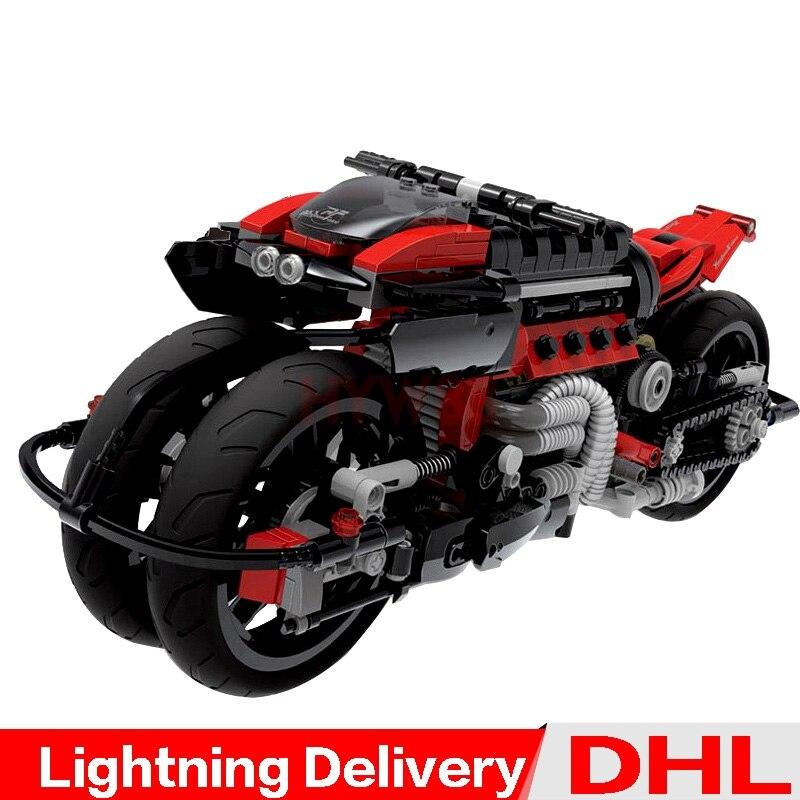 Xingbao 03021 véritable technique Kits tout-terrain moto blocs de construction briques éducatifs lepinings jouets modèle garçons cadeau LP