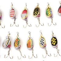 Wholesale 5X 30 X Fishing Lures Crankbait Minnow Poper Bass Baits Hooks Tackle