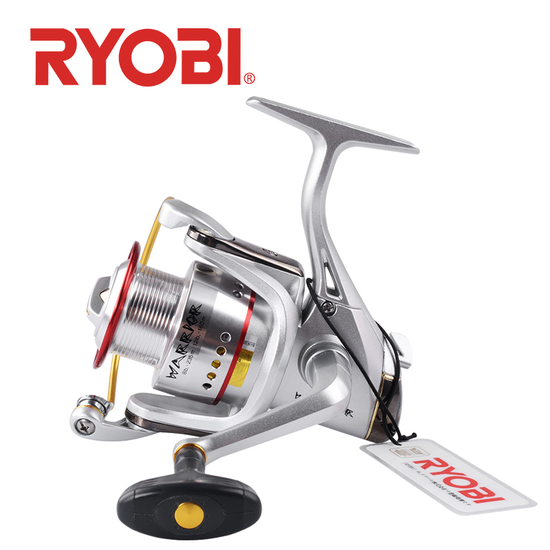 100 original RYOBI WARRIOR SI Spinning Fishing Reel 1000 4000 6000 8000 6 1BB Gear ratio