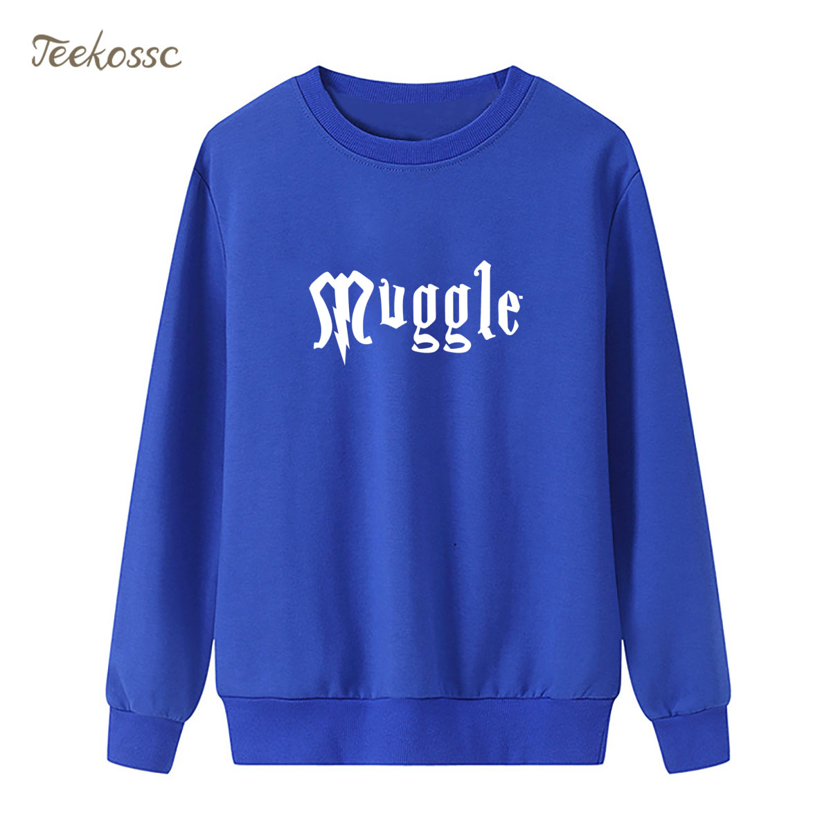 Muggle Sweatshirt Magic Hoodie 2018 Hipster Winter Autumn Women Lasdies Pullover Fleece Warm Loose Streetwear Brand Clothing XXL