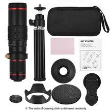 Телеобъектив для мобильного телефона 4K HD, универсальный зум, Монокуляр 15x 22x, телескопическая лупа, телескопическое стекло для цифровой камеры