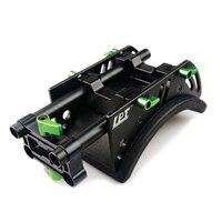 Lanparte cojín de hombro para 5D2 60D 7D GH1 GH2 cámara del hombro Pad con 15 mm varillas para estándar sistema de apoyo Rig cámara videocámara
