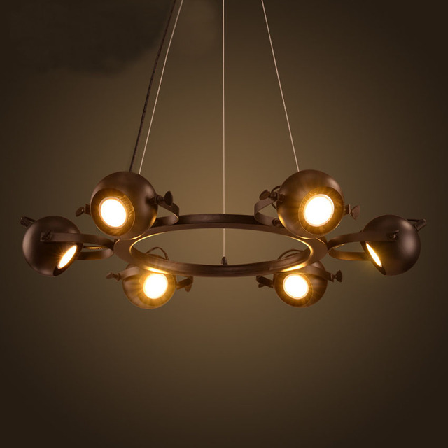 Luminaire 6 boules