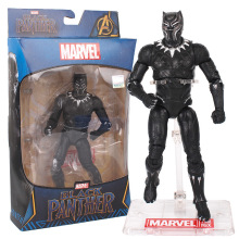 Marvel Toys The Avengers Figure Superhero Iron Man Black widow Hulk Captain America Action Collectible Model Doll