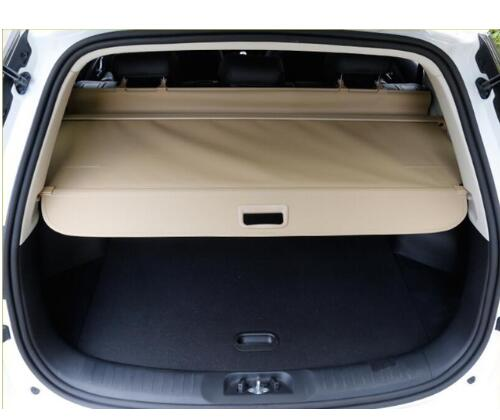 Protection de sécurité pour coffre arrière de haute qualité écran de protection pour CHANA CS35 CS55 CS75 CS95 2015 2016 (noir, beige) par EMS