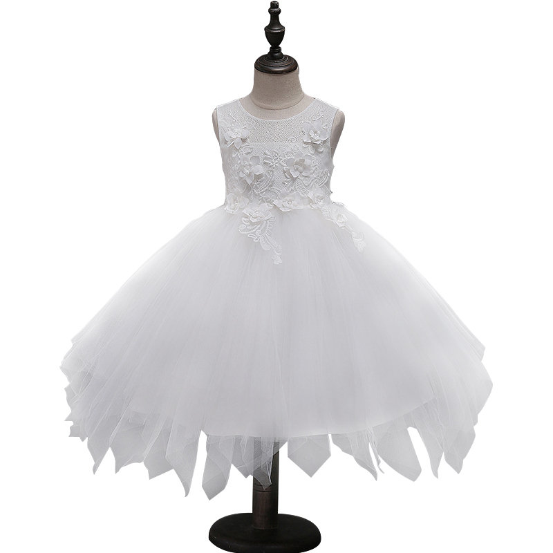 Lace Princess Dresses for Girls Clothes Tulle Children's Costume For Kids Prom Gown Elegant Girl Teenagers Evening party Dress girls ball gown lace flowers girl white dress for prom princess dresses for wedding birthday party kids clothes floral evening