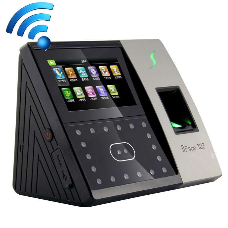 Biometric time attendance system Fingerprint & face recognition time attendance With WiFI wifi biometric face time attendance and access control system iface302 wifi communication fingerprint wifi terminal