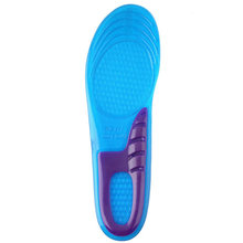 1 Pair Small Size Orthotic Arch Support Massaging Silicone Anti-Slip Gel Soft Sport Shoe Insole Pad For Man Women