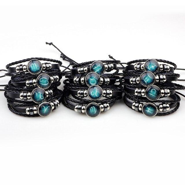Bracelet en cuir signe du zodiaque totalement gratuit 3