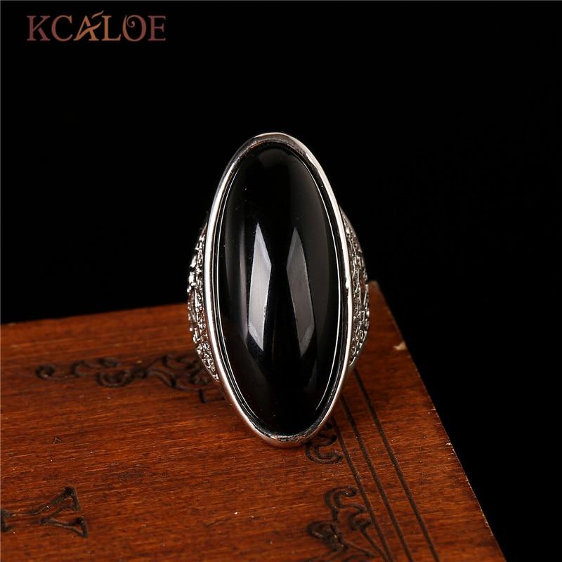 KCALOE natuursteen gele stenen Ring Rose goud kleur sieraden bagues - Mode-sieraden - Foto 4