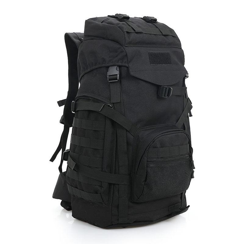 60L Outdoor Tactical Backpack Waterproof Shoulder Bag Traveling Camping Hiking