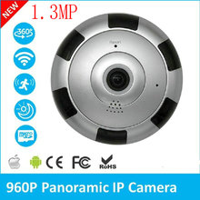 1.3MP 360 Degree Panoramic IP Camera 960P Home Surveillance Full View Network CCTV Security Camera IR Night Vision V380