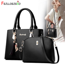 FGJLLOGJGSO Fashion New Tassel Handbags Lady Tote messenger bag women Leather handbag female shoulder crossbody bags sac a main недорого