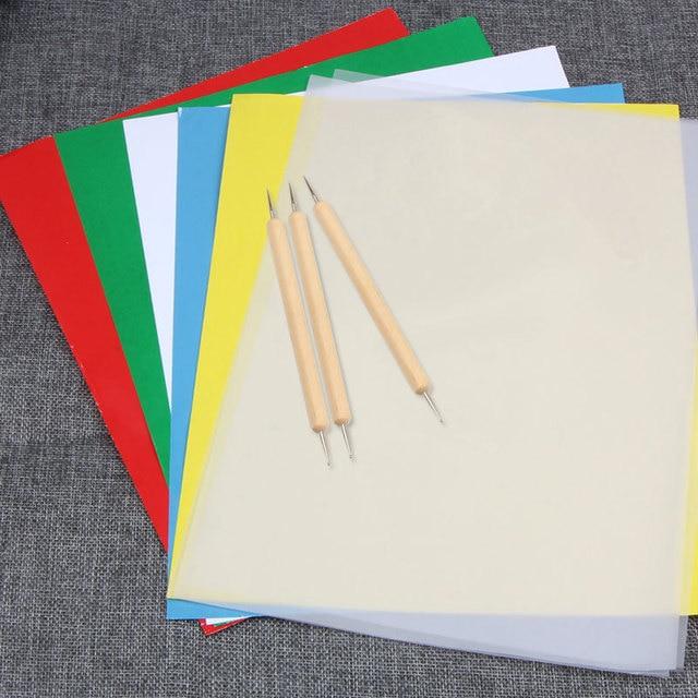 A4 Handmade Diy Embroidery Cloth Fabric Composite Graph Paper