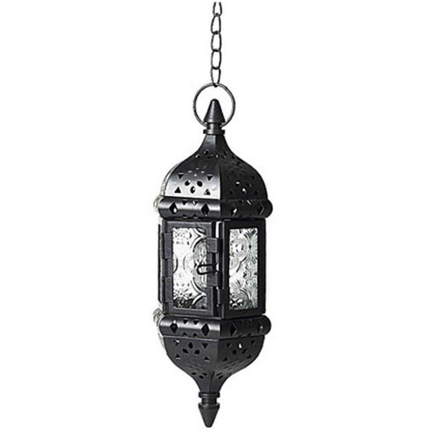 Креативные подвесные декоративные свечи стеклянные потертые подсвечник латерны Tealight Moroco люстры домашний декор 5Z0036