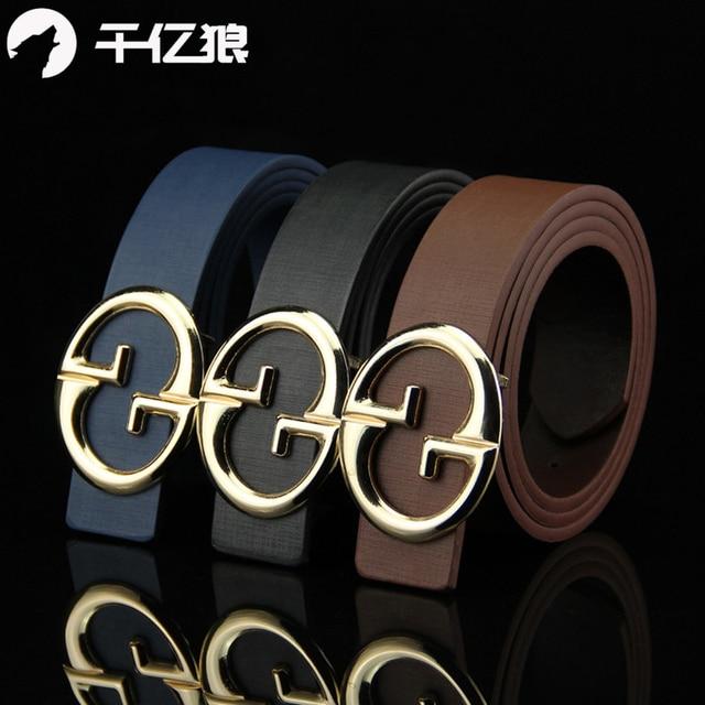 2ebd098b3 New Designer Belts Men Top Quality Luxury Casual Brand G Belts Male Leather  Belt For Women