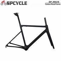 Spcycle 2018 New T1100 Full Carbon Road Bike Frame Aero Monocoque Carbon Racing Bicycle Frame Di2