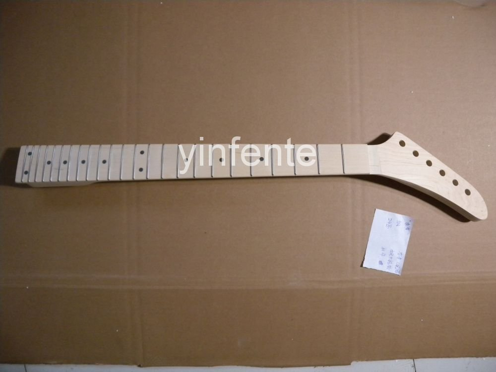 New electric guitar neck Maple wood fingerboard RIght Hand 25.5 inch Tele model 1pcs #2 new electric guitar neck maple wood fingerboard 25 5 inch left hand tele model 1pcs 2