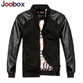 2017 new arrival short leather jacket, thin pilot leather jacket,casual leather jacket men, winter jacket men (PY005)