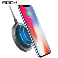 ROCK QI Quick Wireless Charger Phone For IPhone 8 X Samsung Galaxy S8 Note 8 Plus
