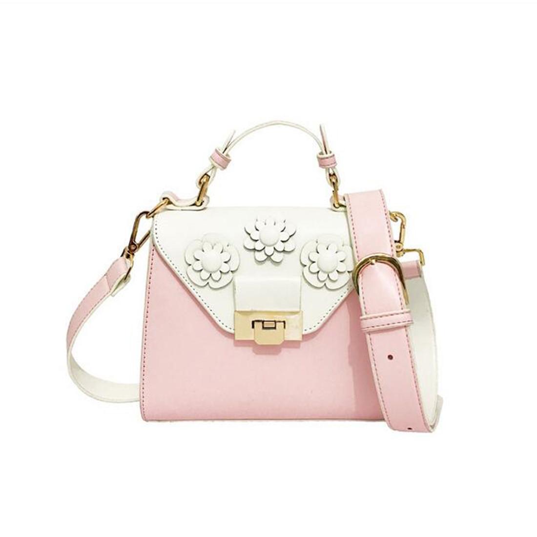 YEJIA FASHION Appliques Luxury Handbag Women Bag Fresh Style Summer Beach Women